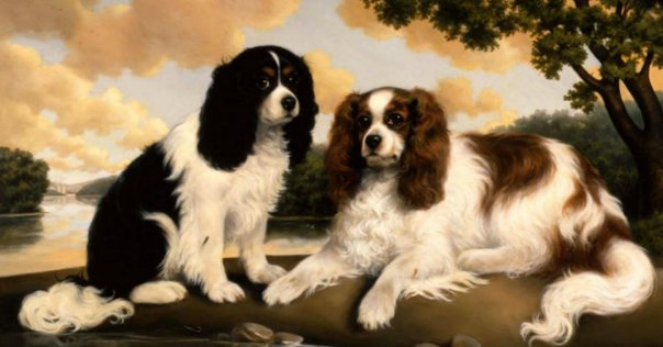 "από το βιβλίο ""The Cavalier King Charles Spaniel: A Tribute in Art\"""